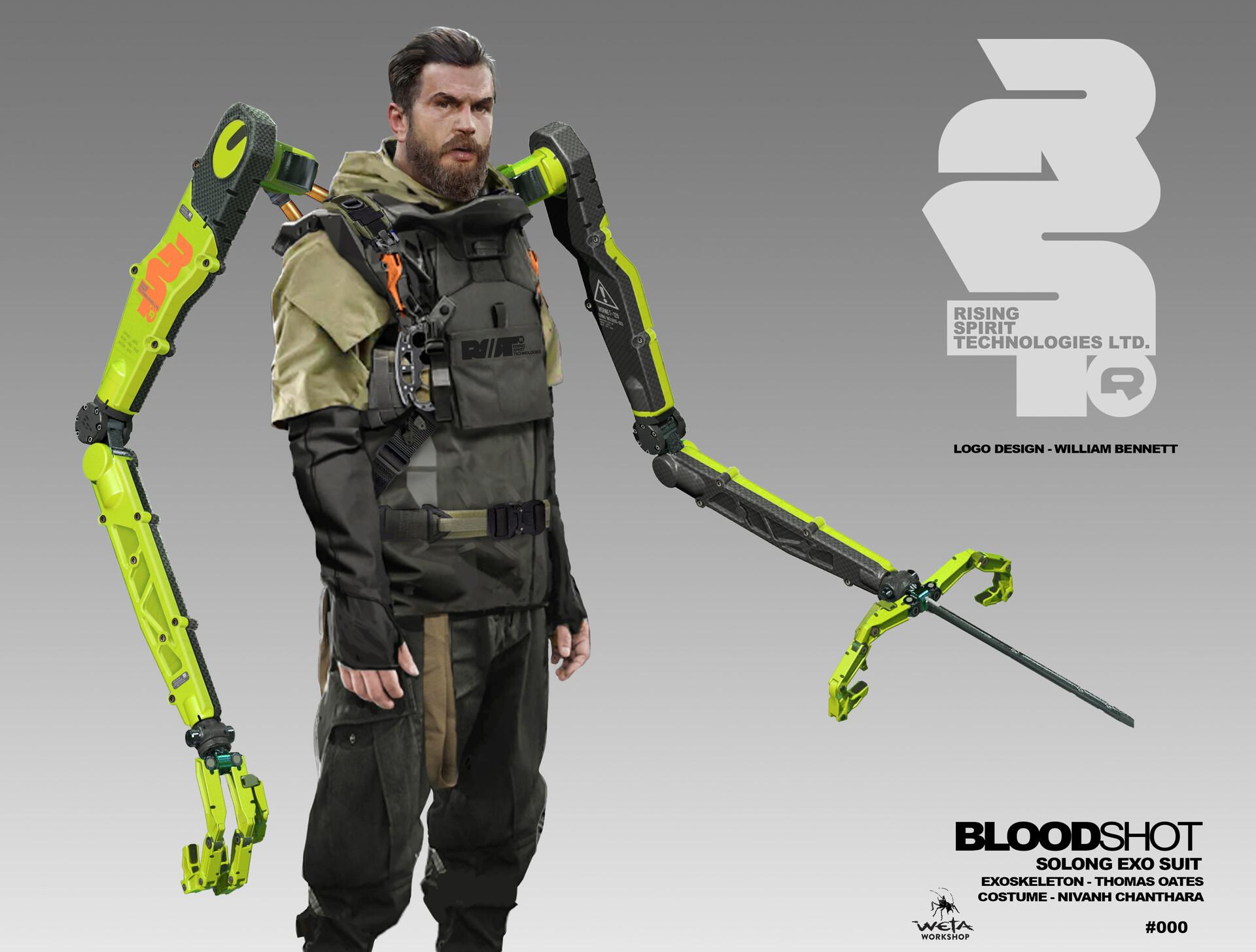 So Long Arm Concept - Artist: Thomas Oates (Costume: Nivanh Chanthara)