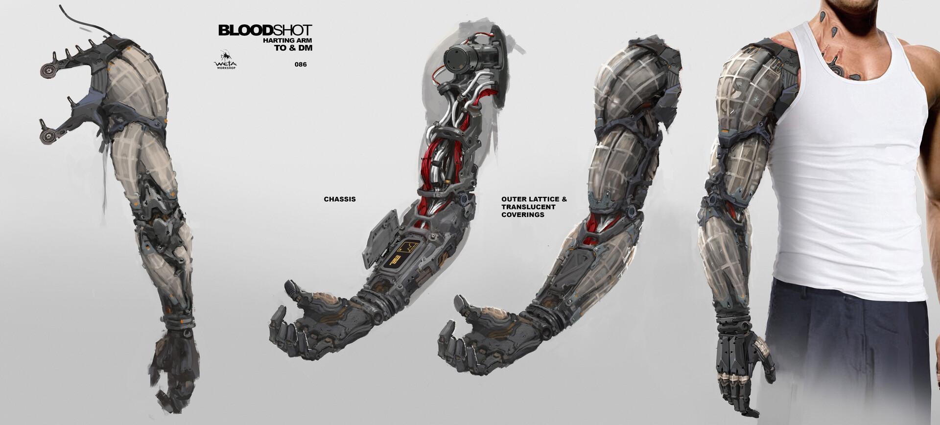 Harting Arm - Artists: Thomas Oates + Dane Madgwick