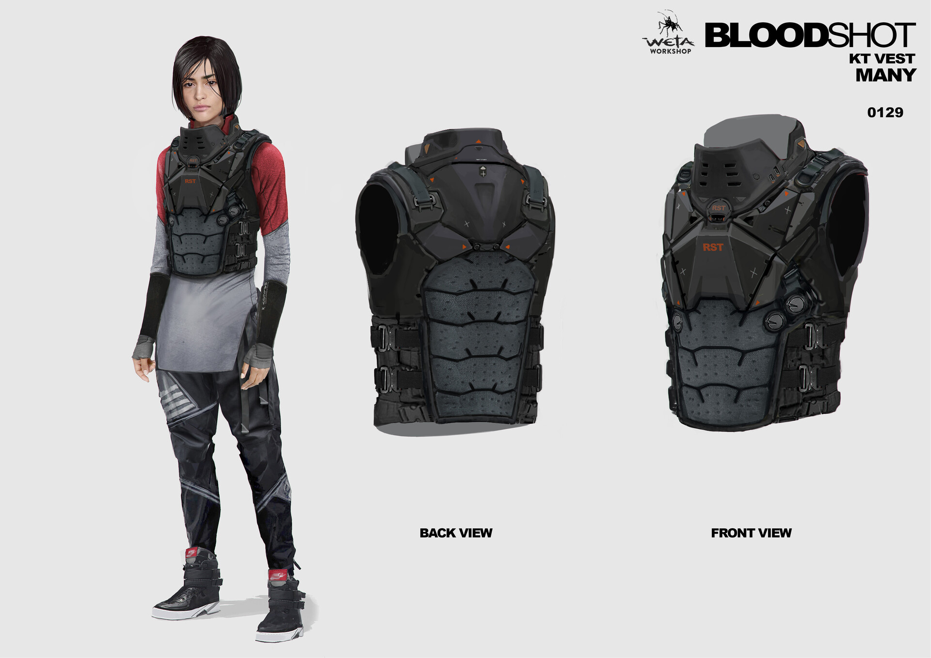 KT Vest Design - Artists: Thomas Oates + Paul Tobin (Pant Design: Nivanh Chanthara)