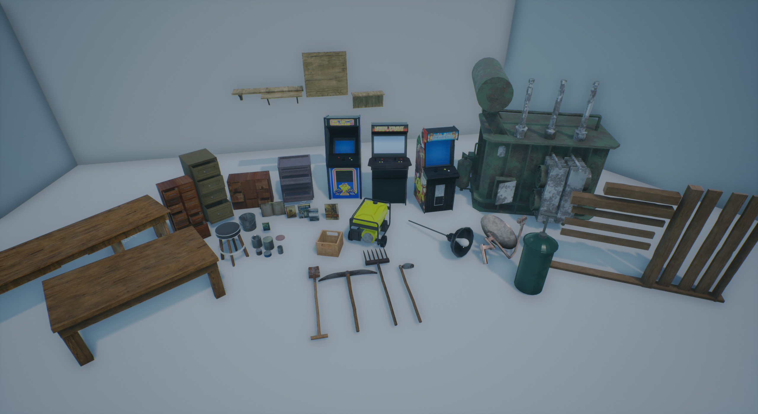 Modular Pieces and Props
