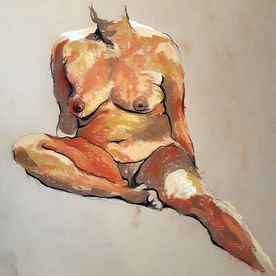 Guillaume bachmann modele vivant 07