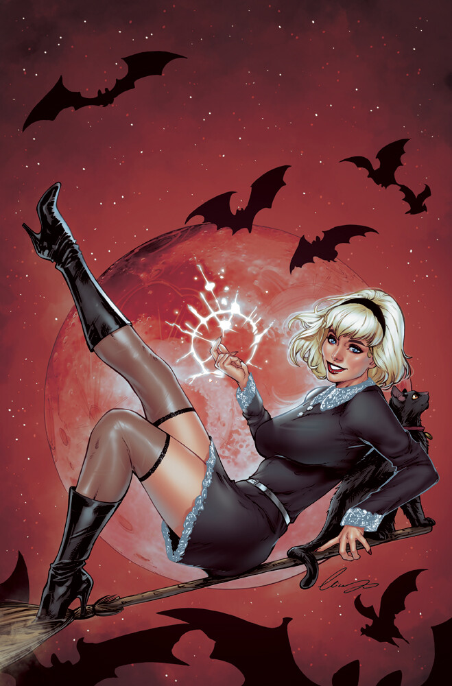 Sabrina Something Wicked #1 (Virgin cover)