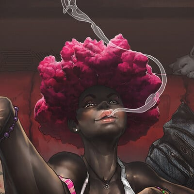 Braito afro girl 3