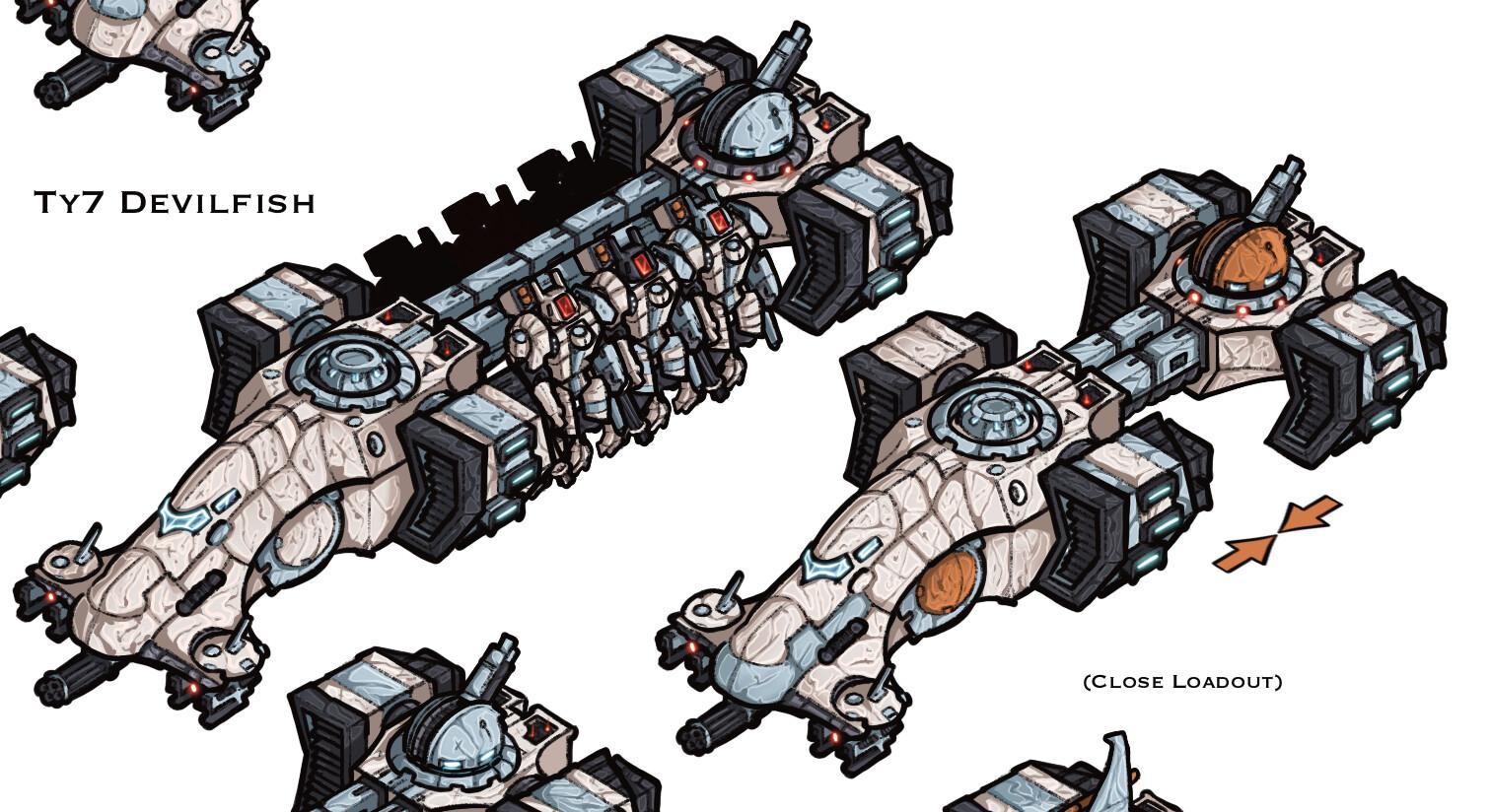 Ty10 Sky Eel - Multi-utility transport