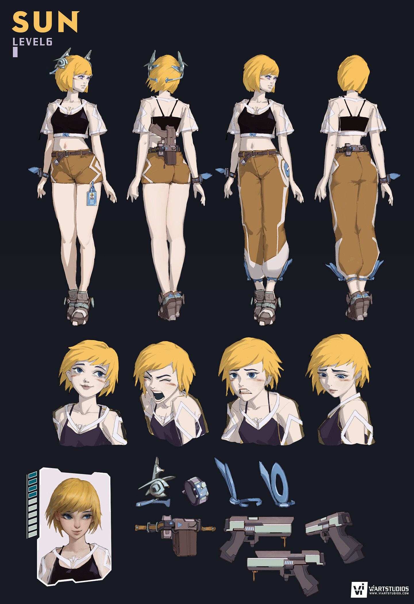 Character design sheet