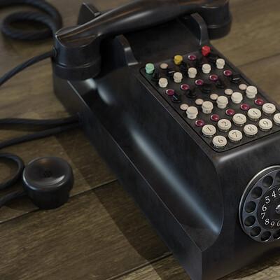 Arcadeous phoenix vintage telephone