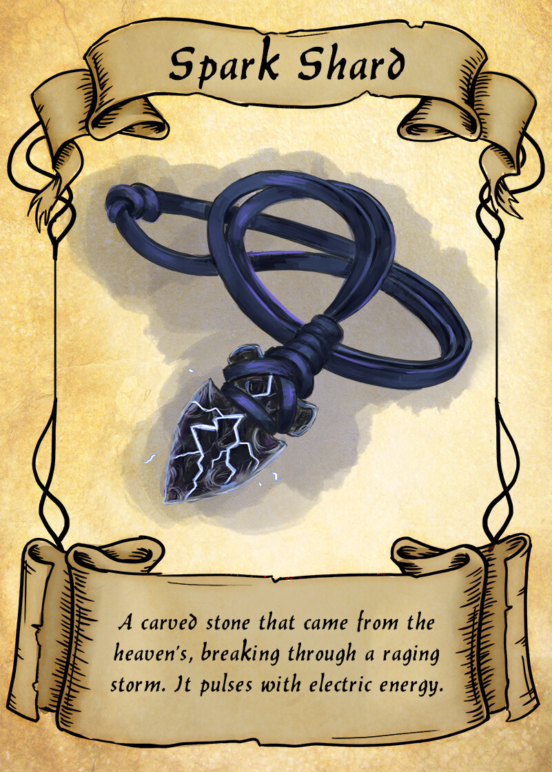 Fantasy Item Cards