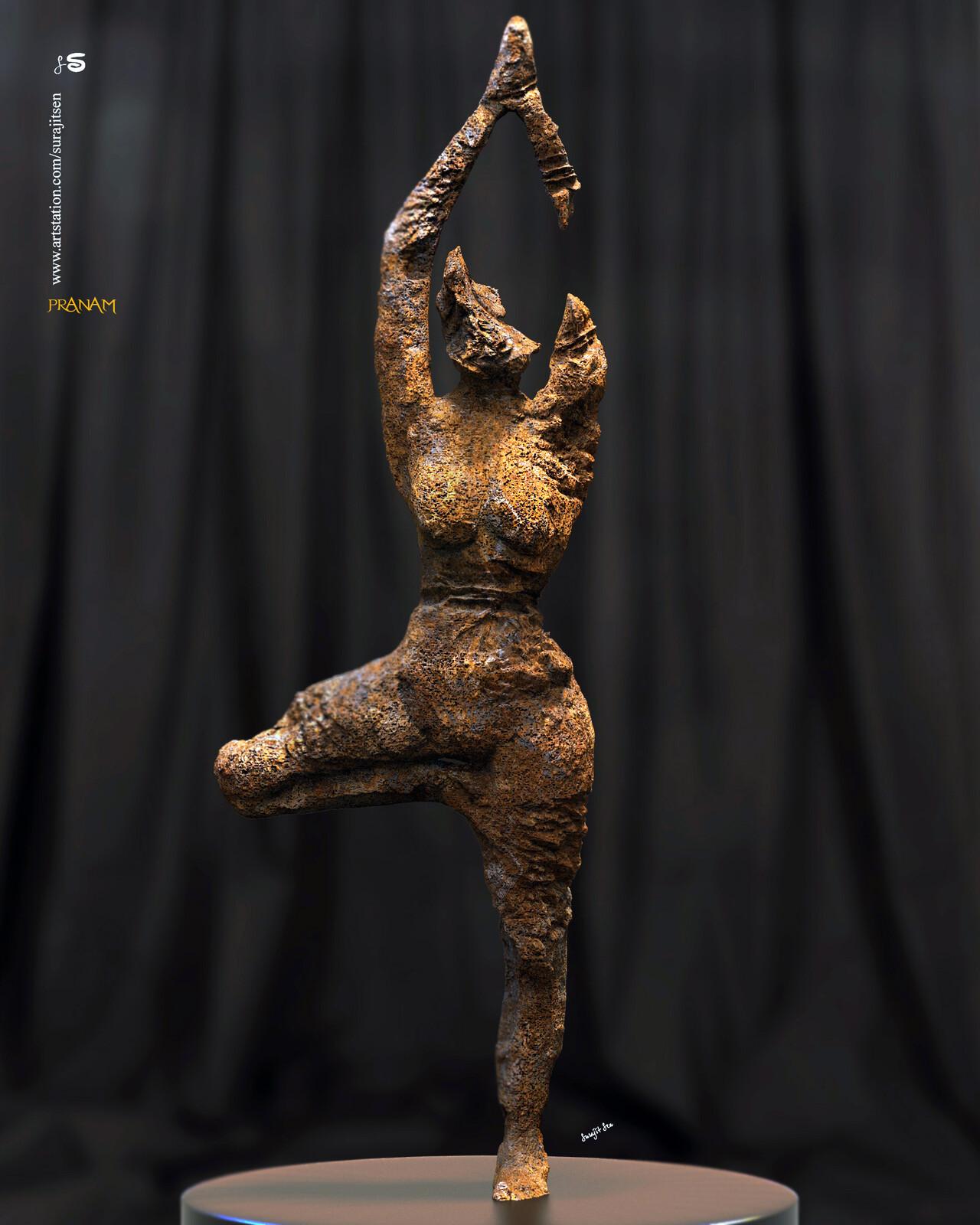 Weekend Sculpture. Pranam Wish to share.