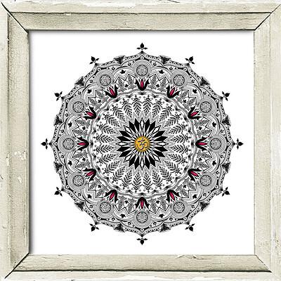 Rajesh r sawant mandala 2 framed
