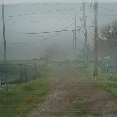 Anna dousova foggy study