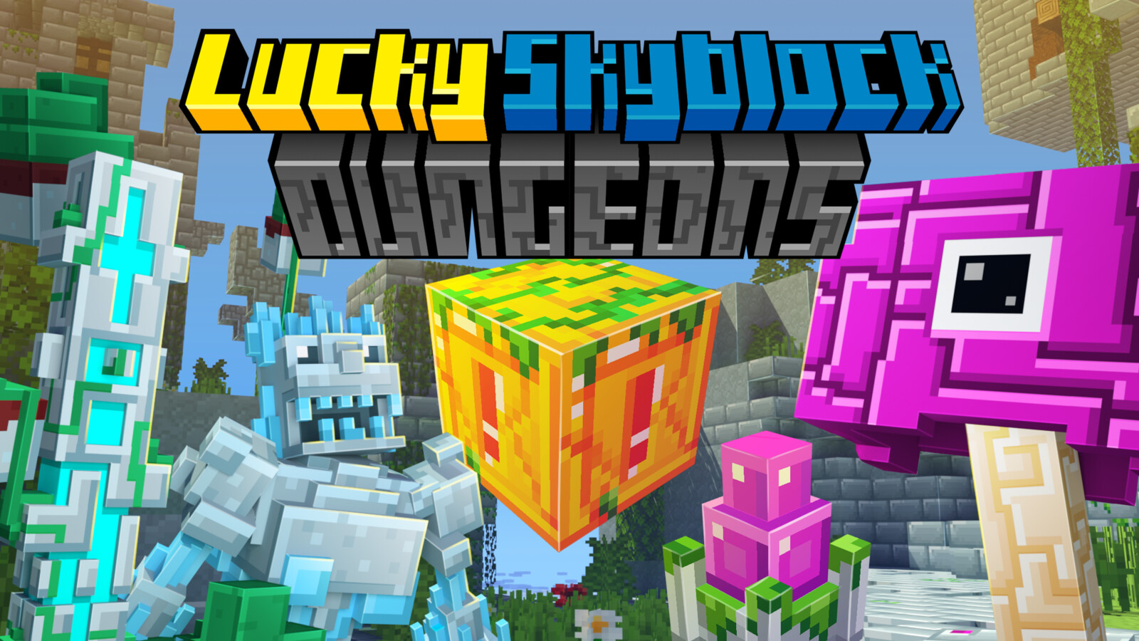 Lucky Skyblock Dungeons