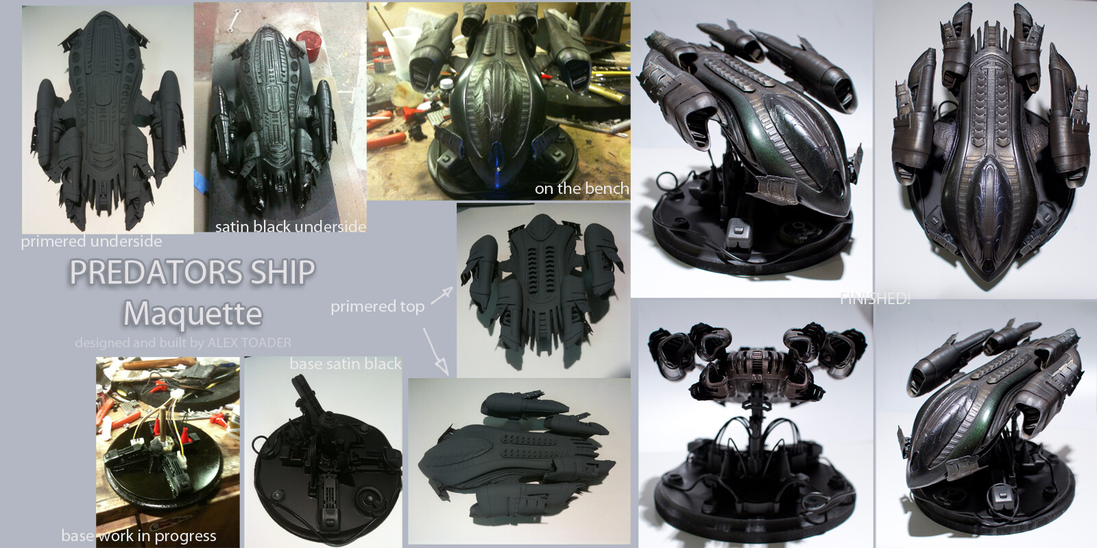 Predator DropShip Maquette stages v2