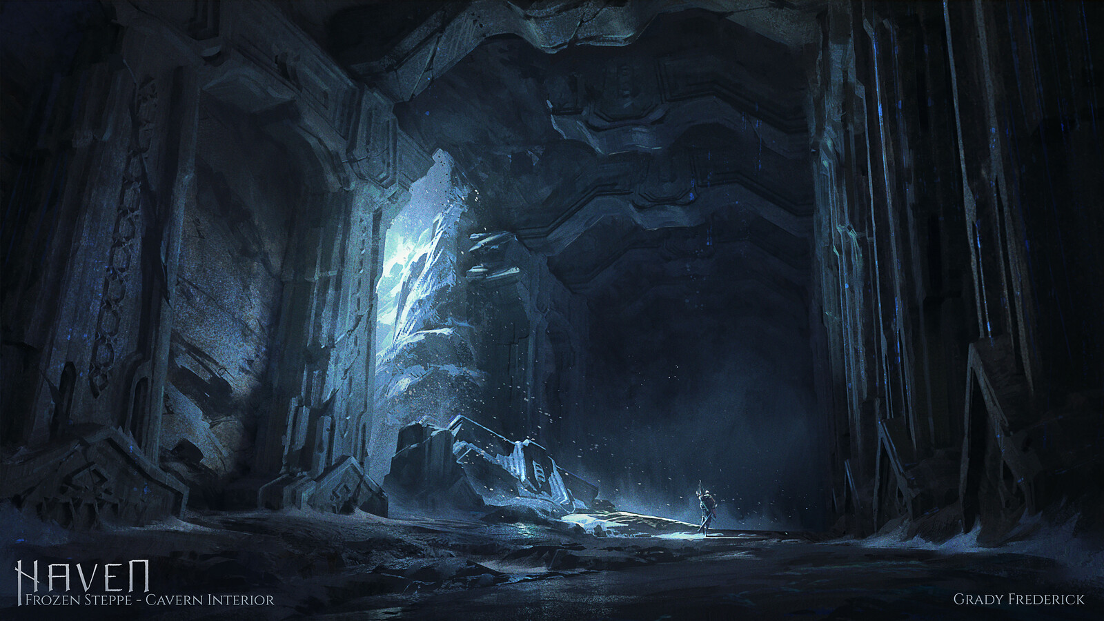 Haven - Caverns in The Frozen Steppe: Interior