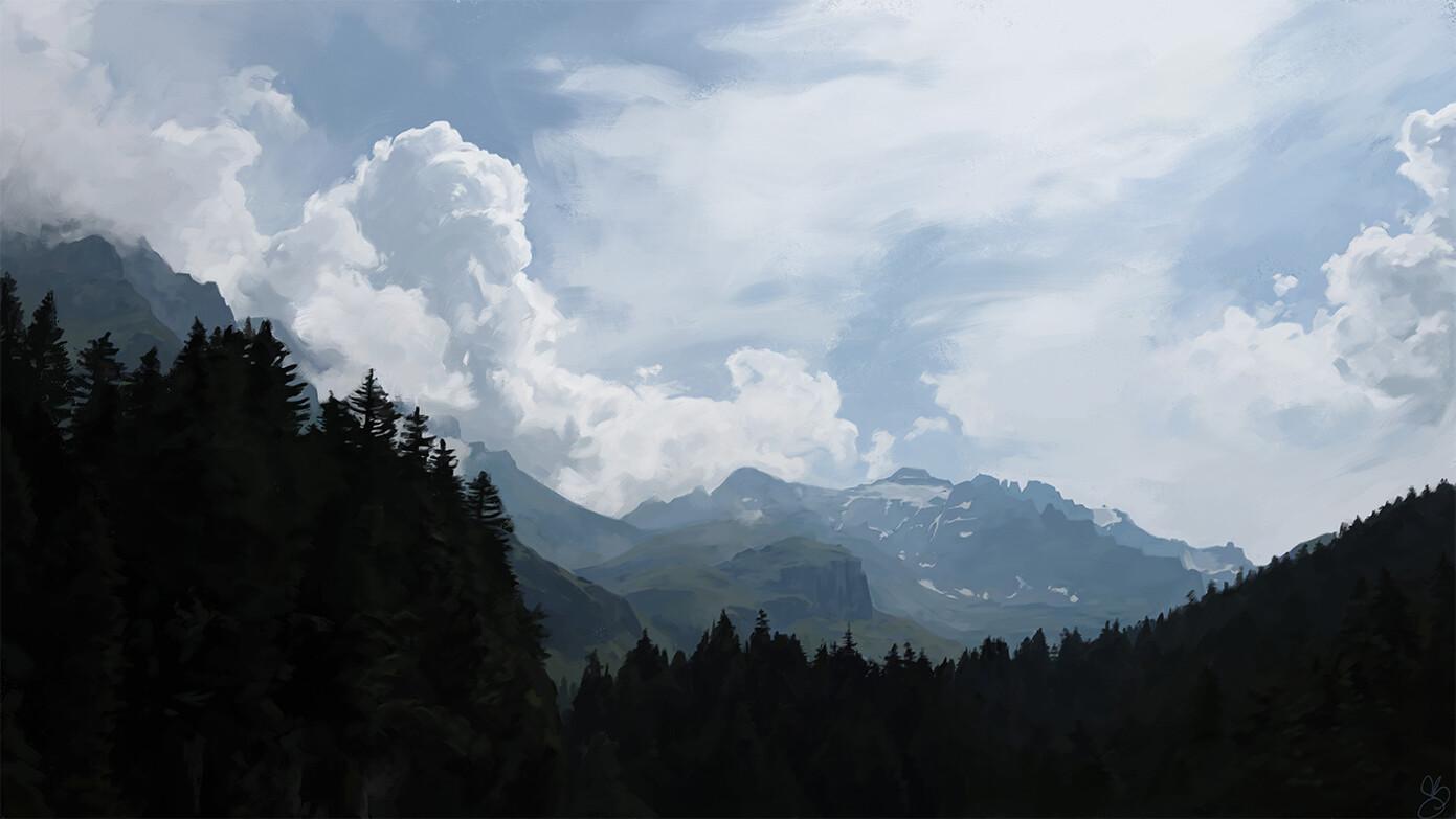 Cloud Mountains
