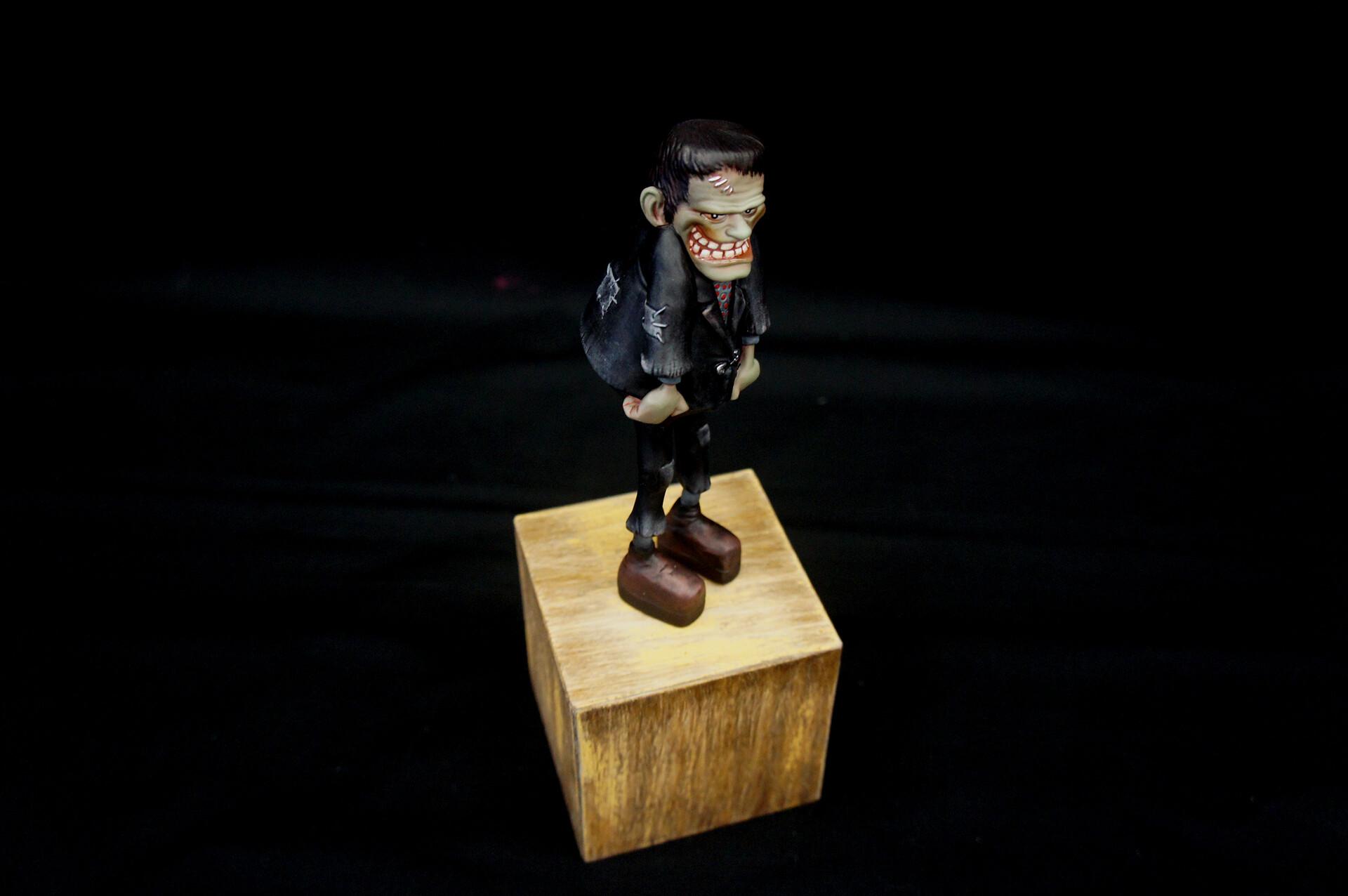 Animated Frankenstein Art Statue  https://www.solidart.club/