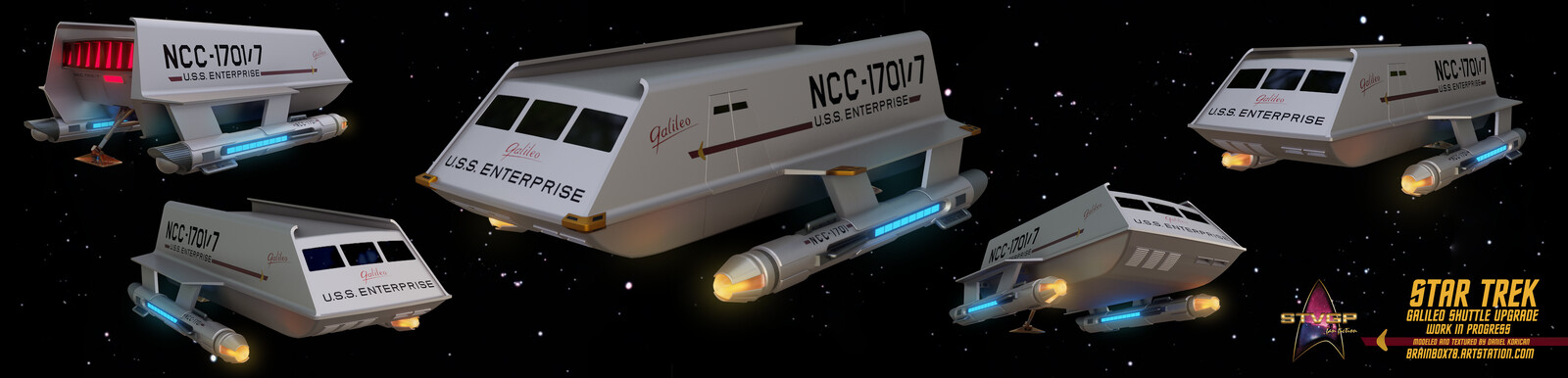 Galileo Shuttle Upgrade