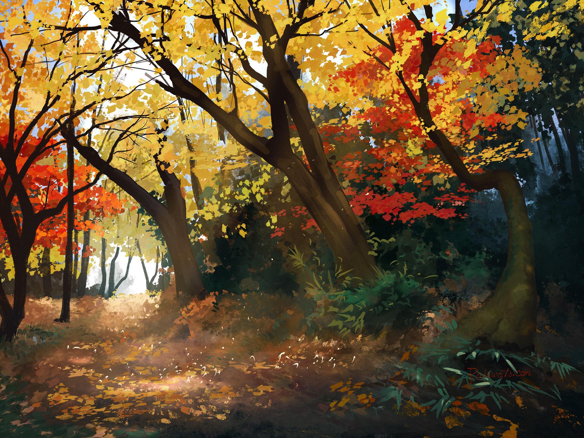 Park near Ghibli museum