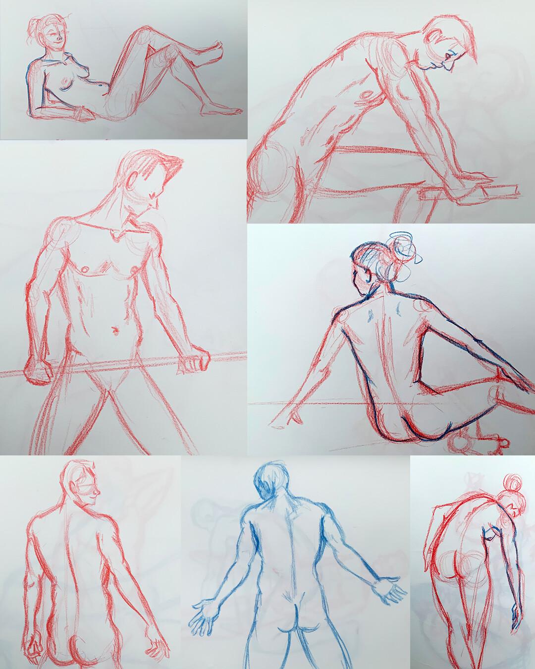 Gesture Drawings III