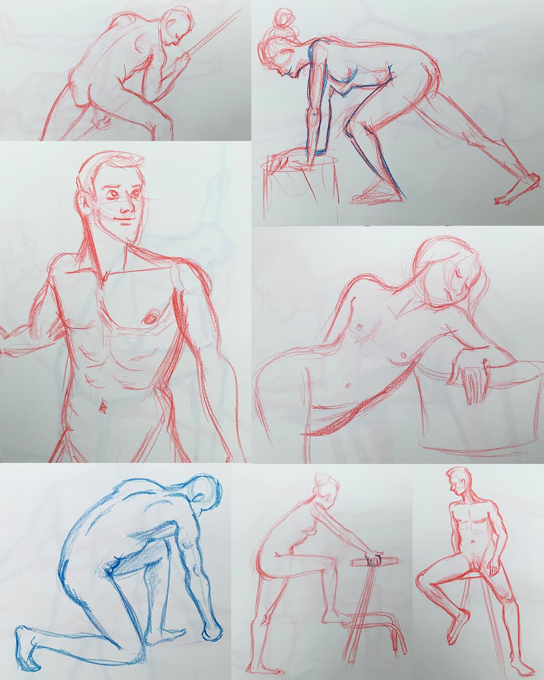 Gesture Drawings IV