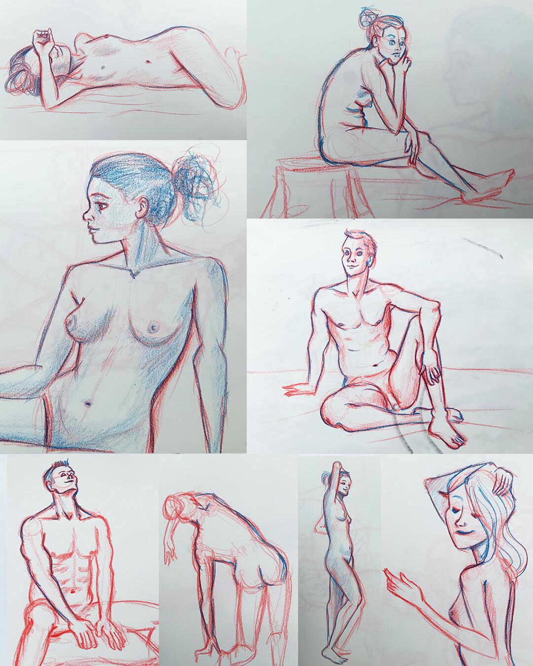 Gesture Drawings V
