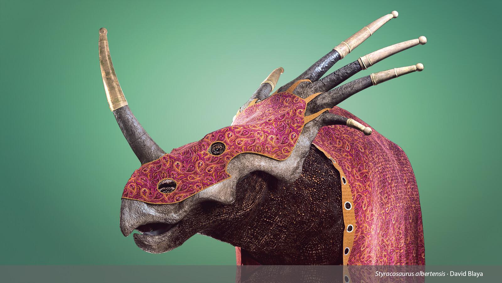 Styracosaurus albertensis - The spiked lizard