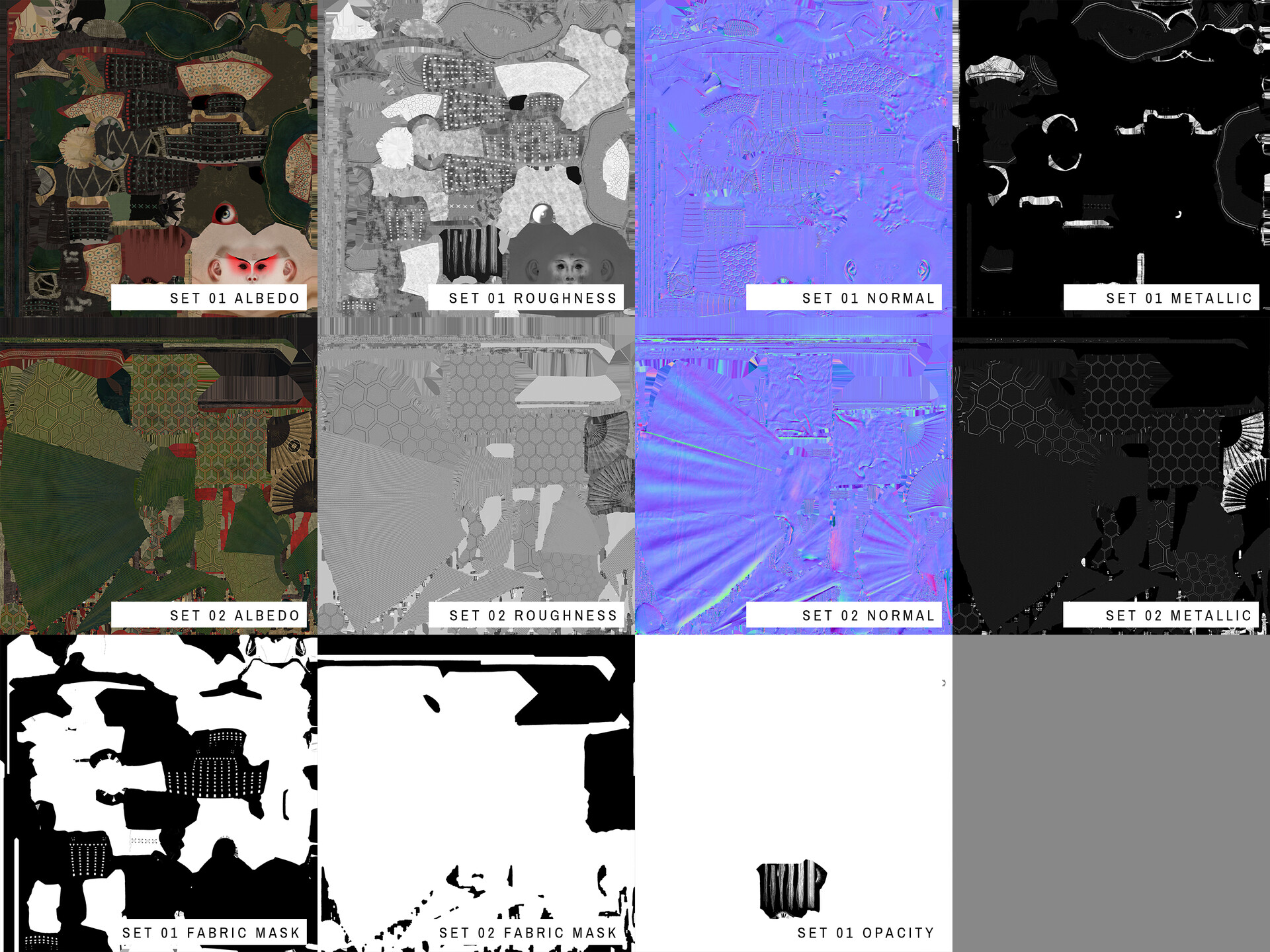 All textures