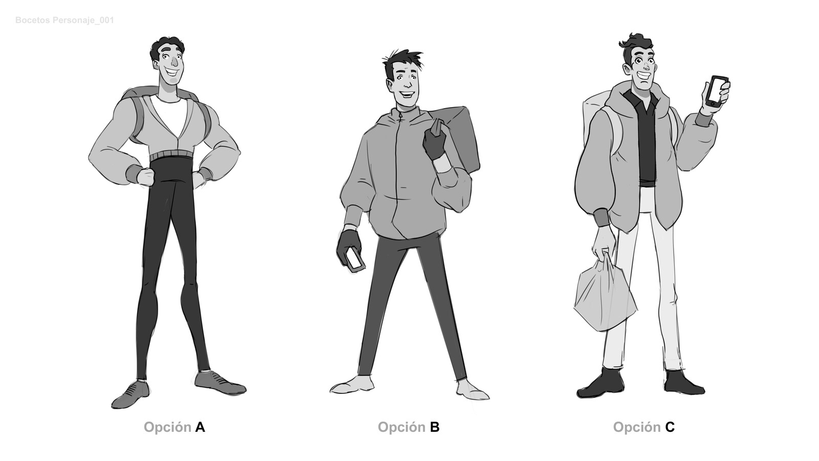 First Approach for the character design