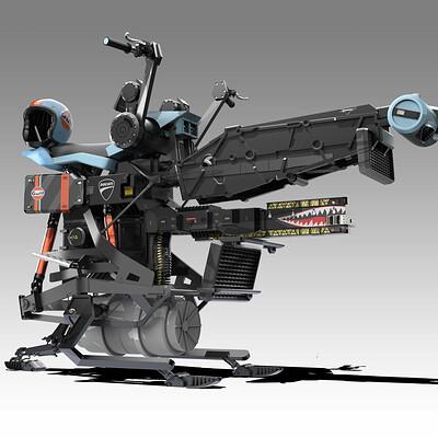 Robots v dinosaurs gulf hoverbike 1