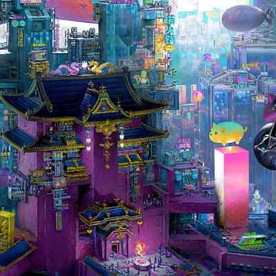 Ruan jia 114 2 0 miaow city 2 0