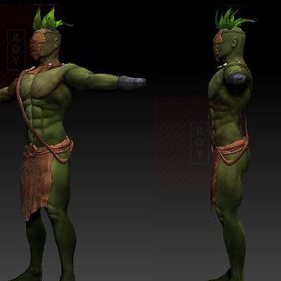 Subham roy green man