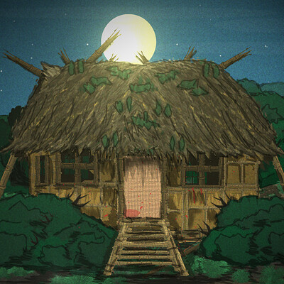 Christopher mckiernan small bamboo house fx