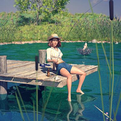 Lizzie prusaczyk d9s co gone fishing