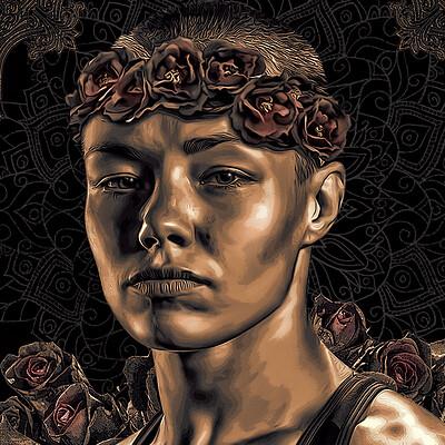 Danilo de almeida six fan arts 06 rose namajunas