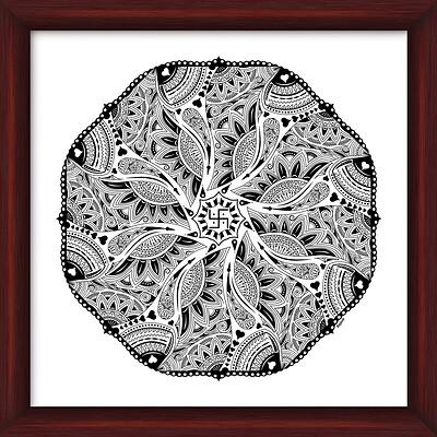 Rajesh r sawant mandala 3 framed