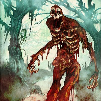 David hartman swamp blood terror