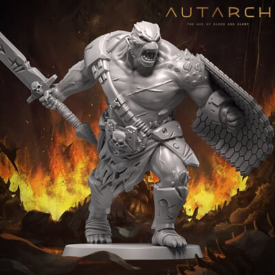 Andrew martin autarch background for minis