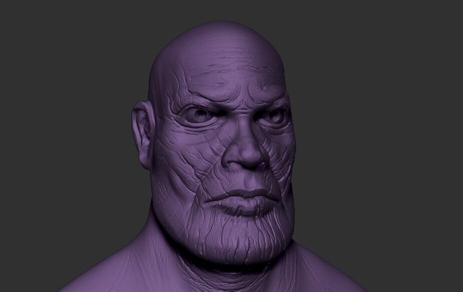 Thanos by (amit kumar artist)