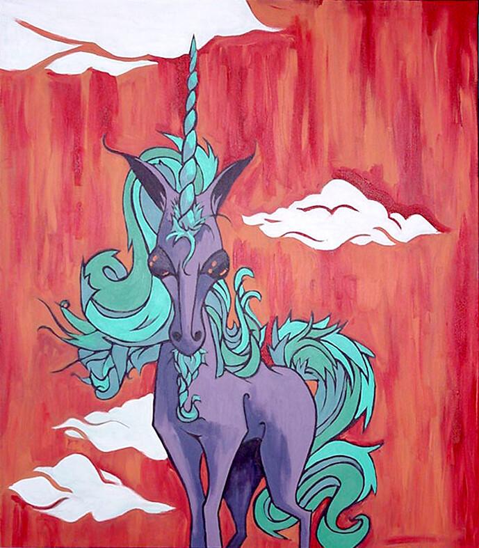 Alien Unicorn