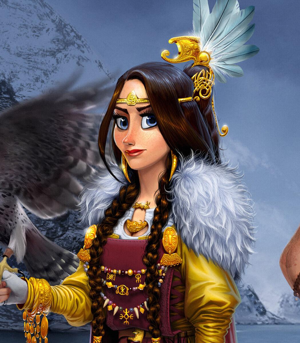 The goddess Frigg