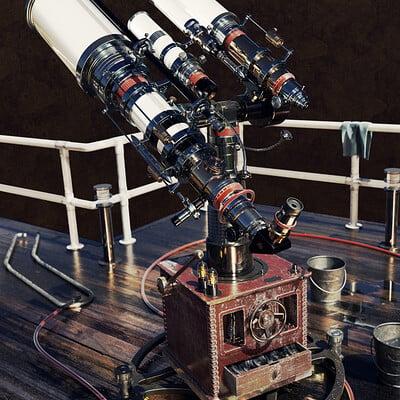 Pascal deraed telescope front final