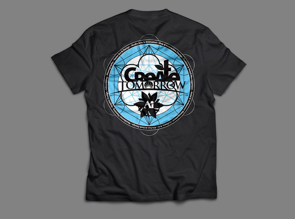 Create Tomorrow T-shirt design