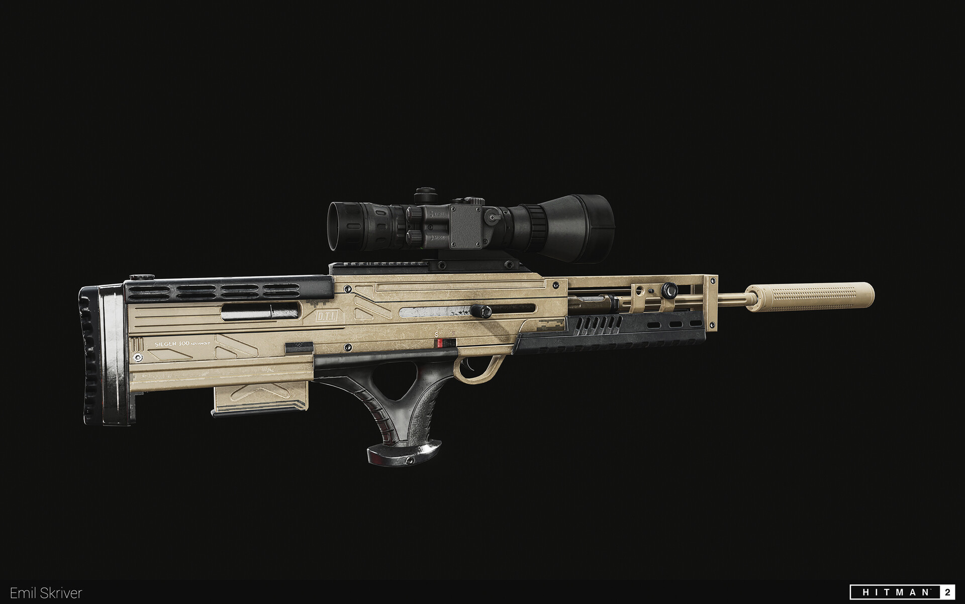 Sieger sniper rifle