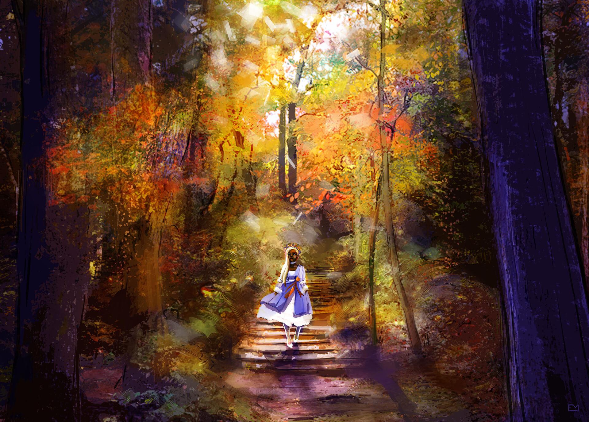 Digital painting - Adobe Photoshop