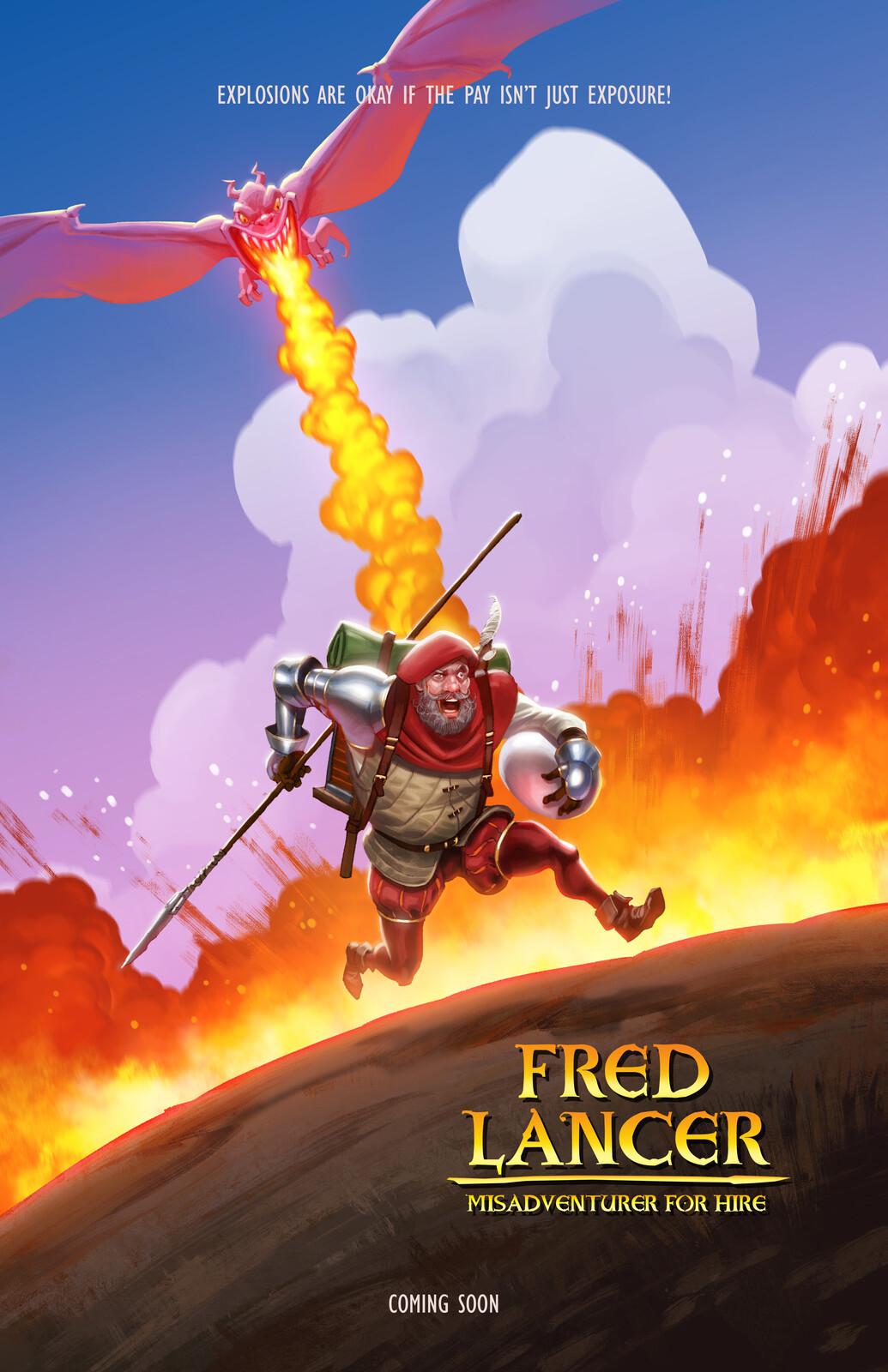 Fred Lancer: Misadventurer For Hire