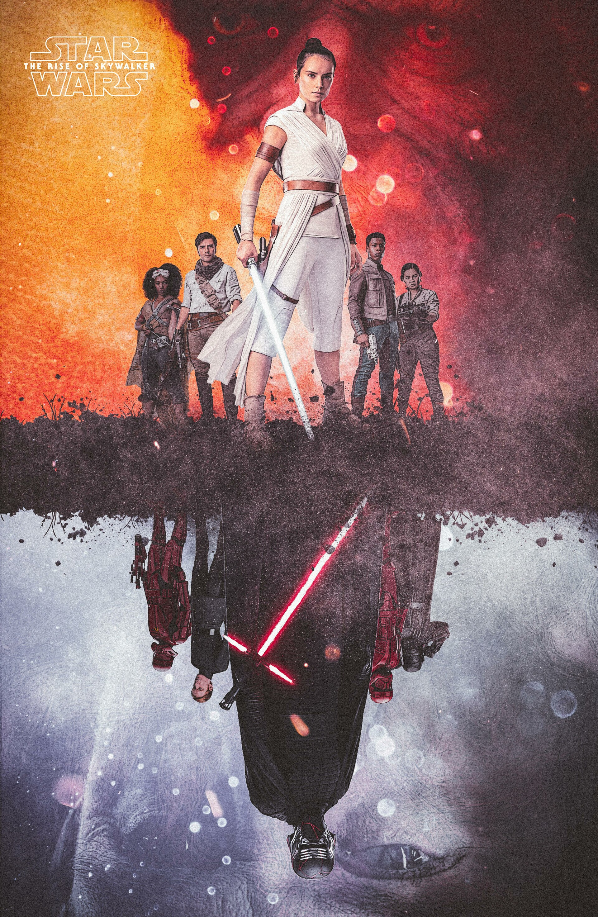 Artstation Star Wars The Rise Of Skywalker Alternate Movie Poster Neemz The Movie Poster Guy Nima Neemz Nakhshab