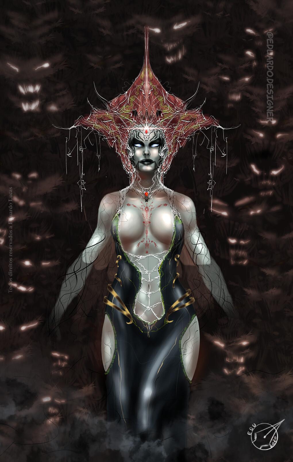 Nesstarish the demon goddess