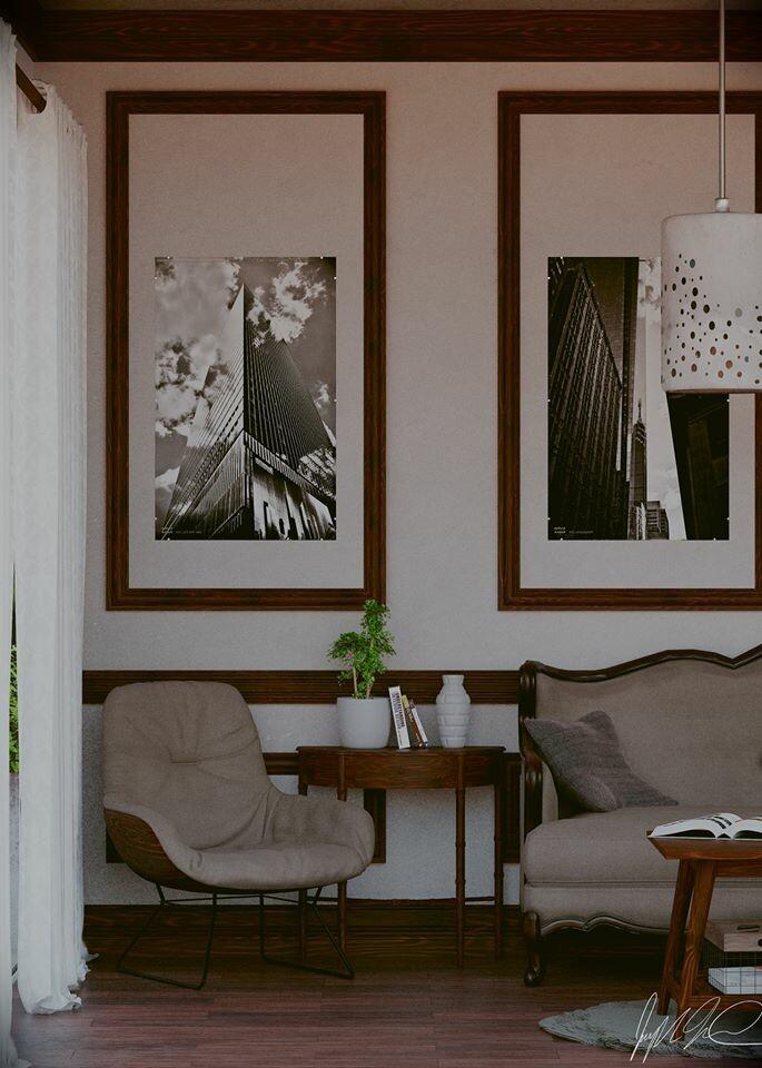 Interior Render by Joseph Forthun