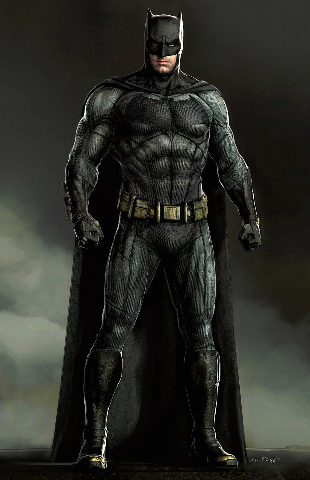 Justice League: Batman Designs