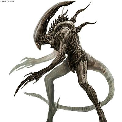 Constantine sekeris alien xenomorph suit concept 01a