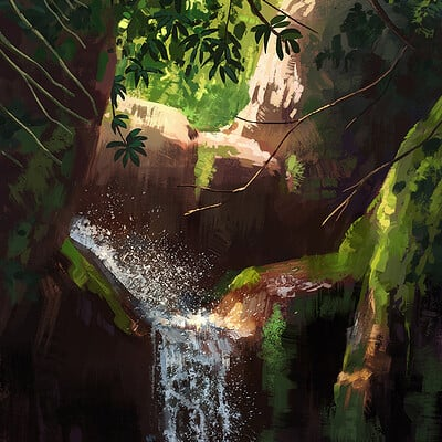 Madeleine bellwoar waterfall s